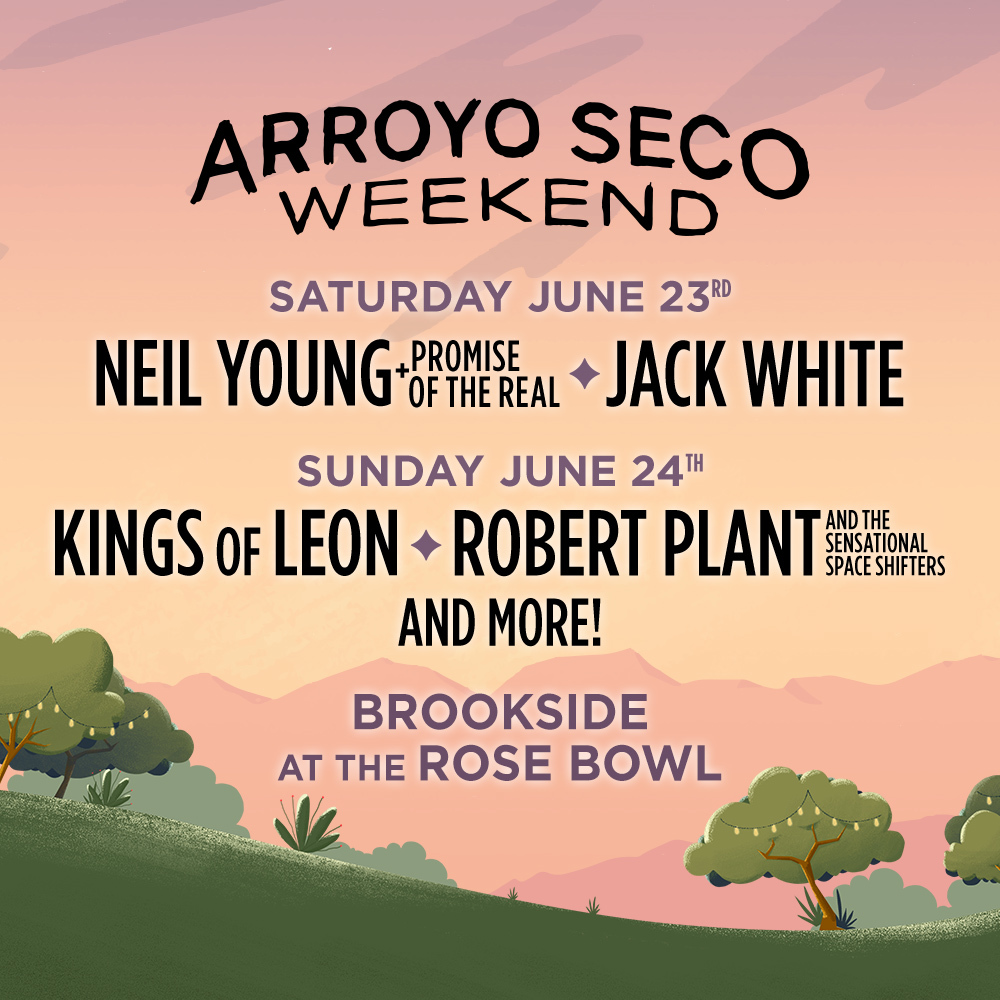 Arroyo Seco Music Festival 2020.Hilton Honors Experiences